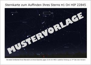Sternaptenschaft Sternkarte