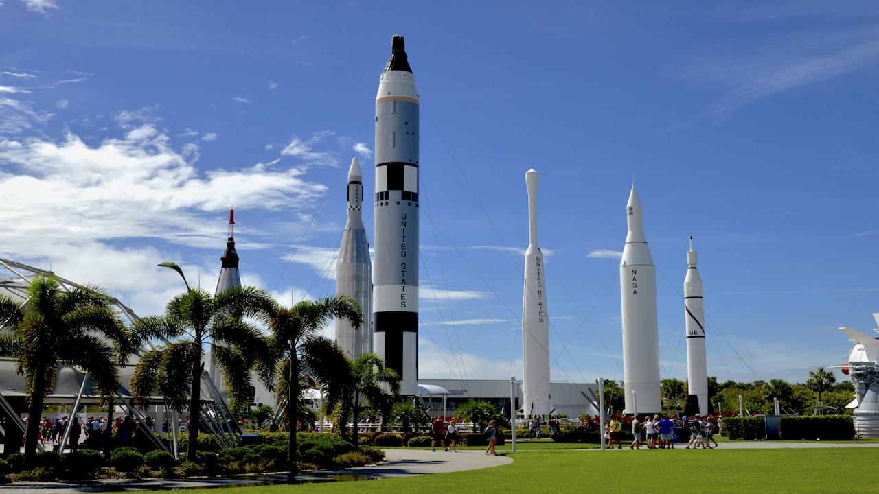 Kennedy Space Center Raketengarten