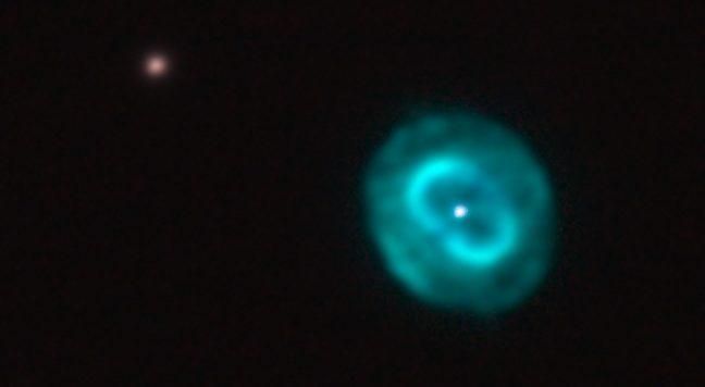 Blauer Schneeball NGC 7662
